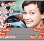 driving school brisbane 5 lesson gift voucher
