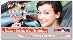 driving school brisbane bulk buy 5 lesson deal